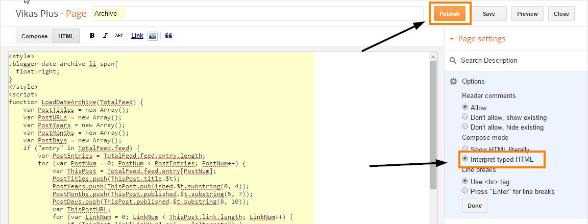 code-copy-karo-blogger-archive
