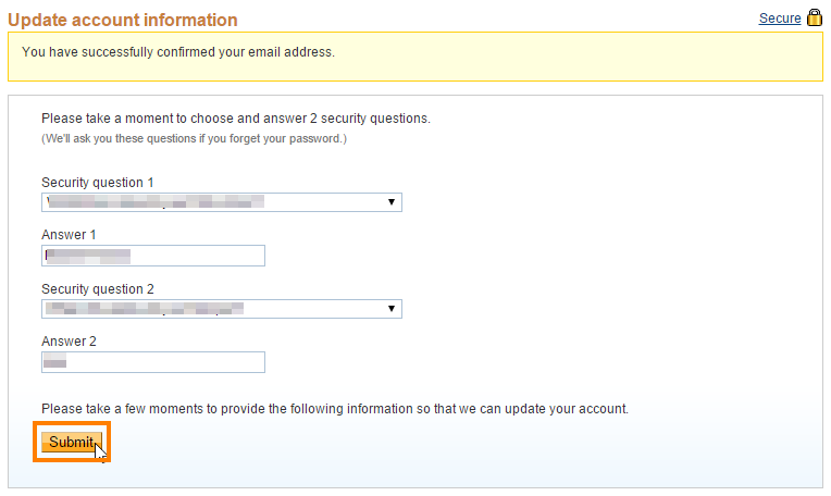 email-confirm-security-qustion-submit-paypal