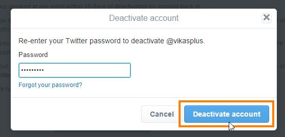 password-daale-deactivate-par-click-kare