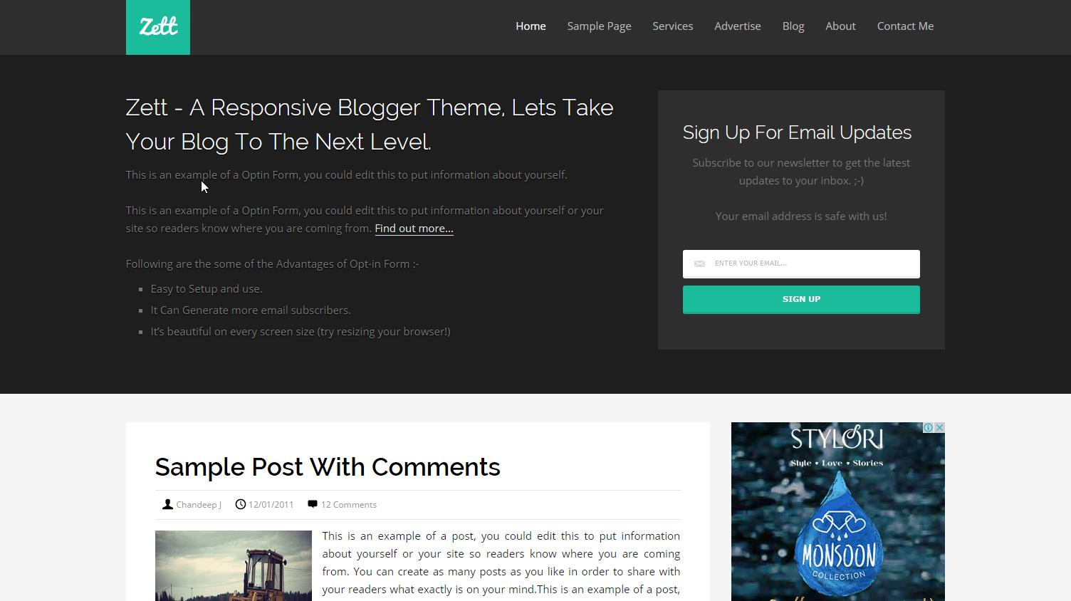 zett-blogger-theme