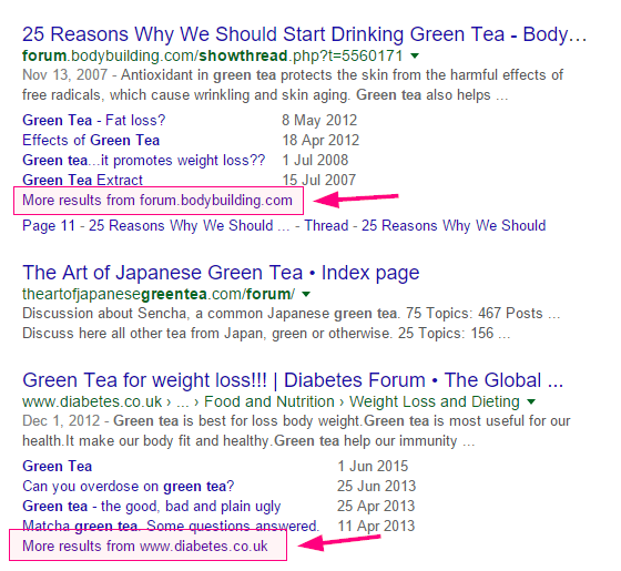 long-tail-green-tea-keyword-research-google-discussions