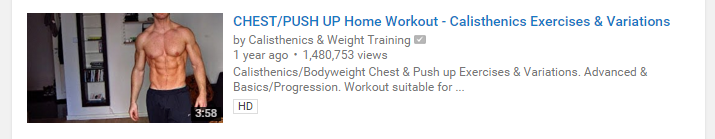 pushups for chest at home - YouTube