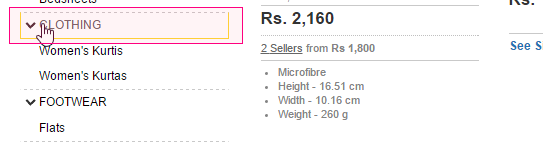rajesthani-niche-flipkart-search-filter